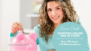 Earn Cash Back with Ebates